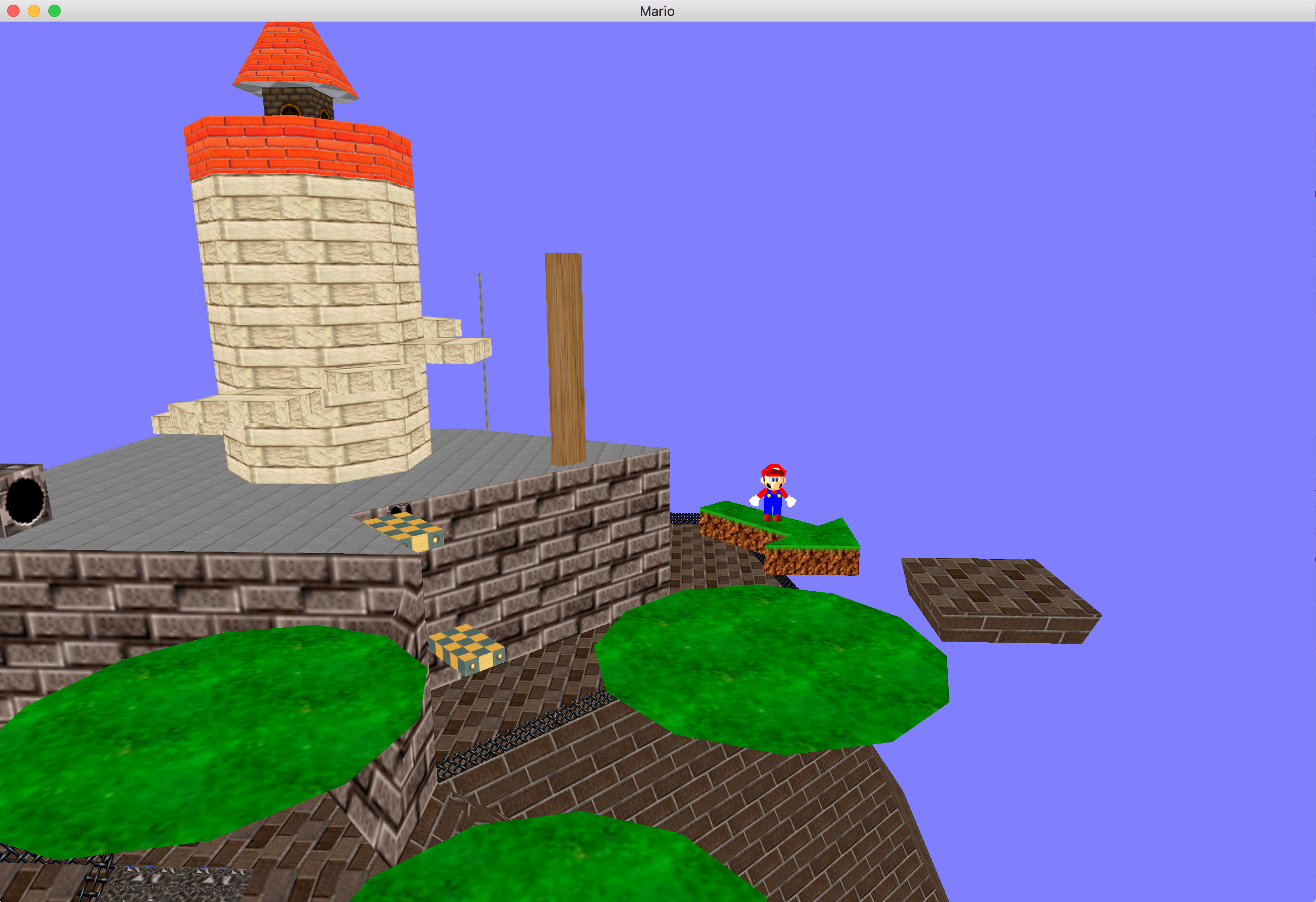 Super Mario World OpenGL Project
