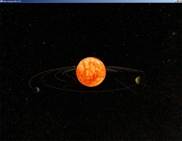 The Orbit of the Planets Drawn - Pics about space
